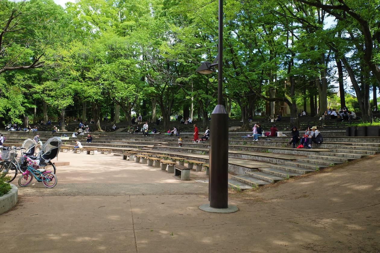 石神井公園・野外舞台