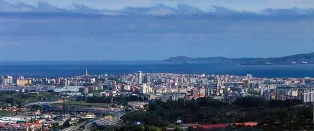 Una vista de Coruña diferente