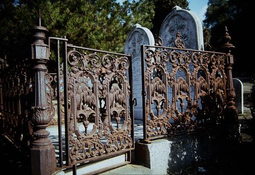 Gate on a Family Plot (1)