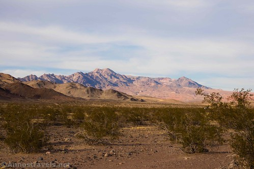 The Ibex Hills from the route to the Ibex Hills, Death Valley National Park, California