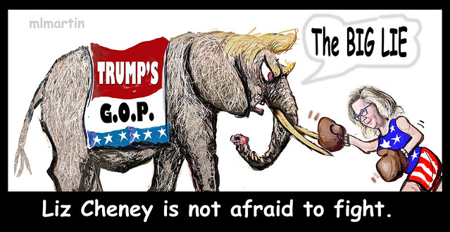 Liz Cheney fights THE BIG LIE
