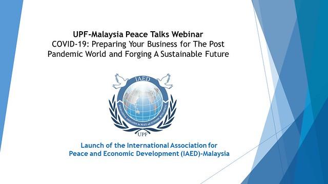 Malaysia-2021-04-17-IAED Inaugurated in Malaysia