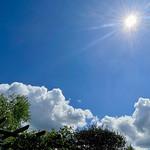 5. Mai 2021 - 12:24 - Blue sky with clouds...