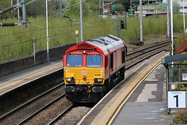 66009 0K32 Arpley - Stoke, Marcroft,