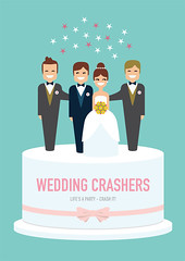 Wedding Crashers - Alternative Movie Poster