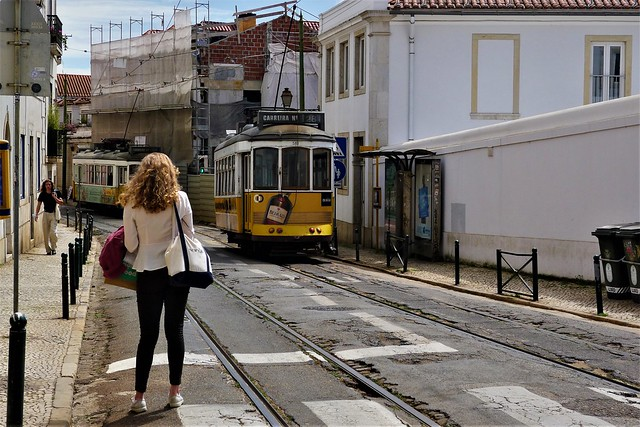 the legendary tramway and those who wait for it