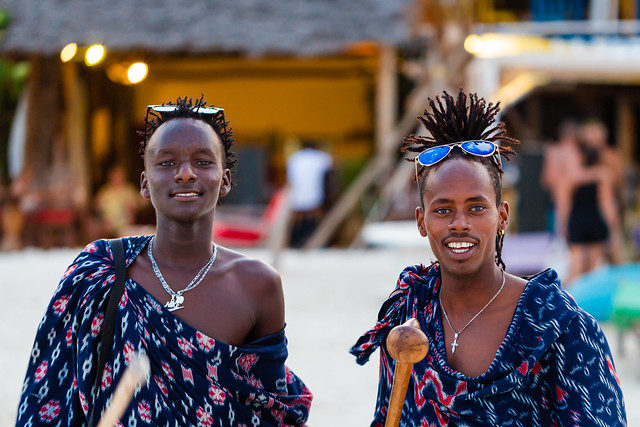 Mens from Tanzania