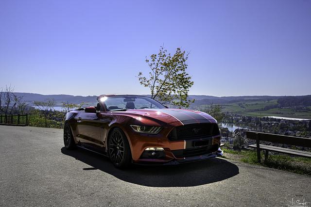 Mustang Photostopp in Stein am Rhein - Schaffhausen - Switzerland