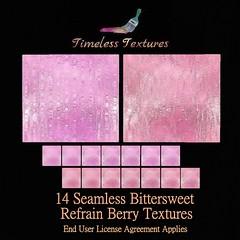 TT 14 Seamless Bittersweet Refrain Berry Timeless Textures