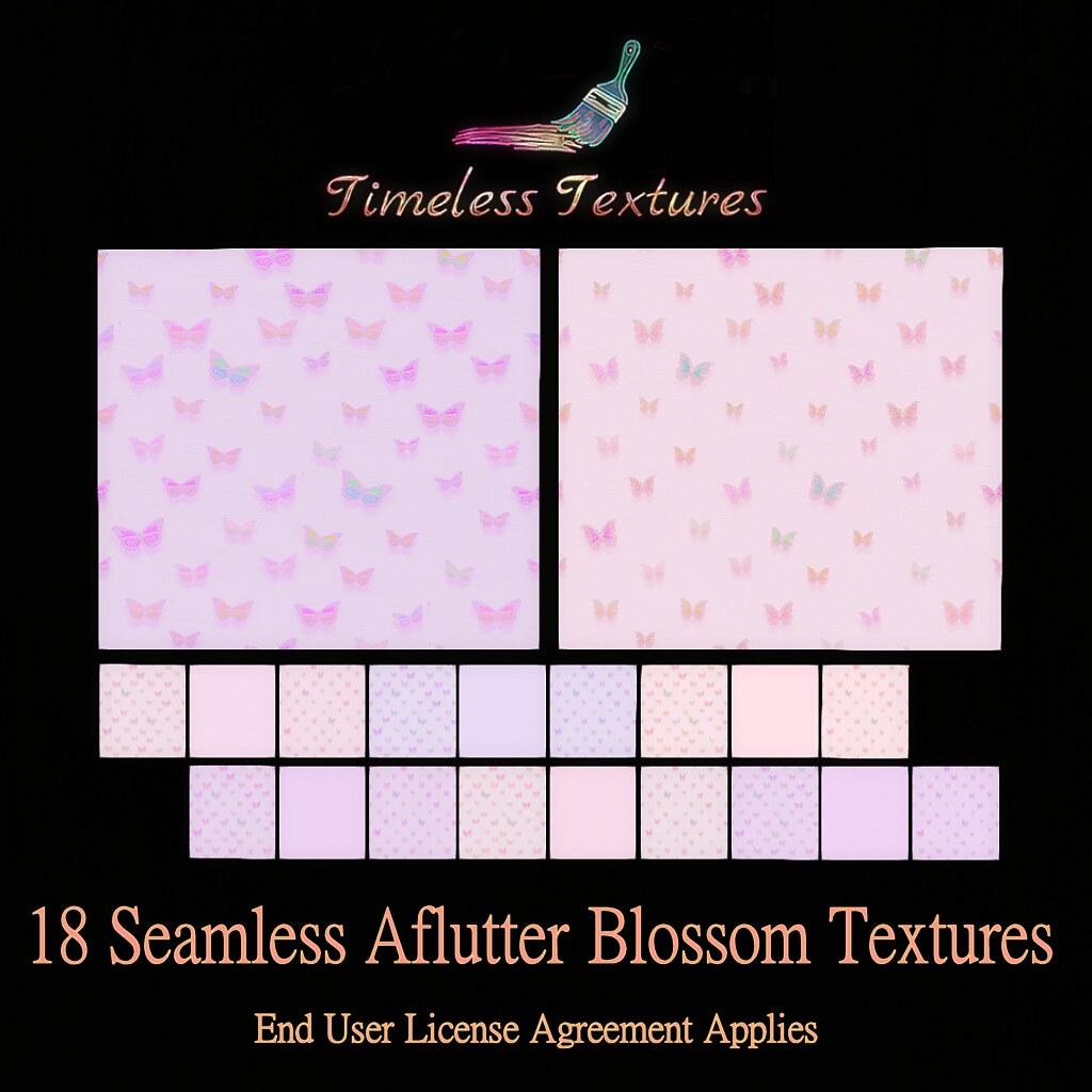 TT 18 Seamless Aflutter Blossom Timeless Textures