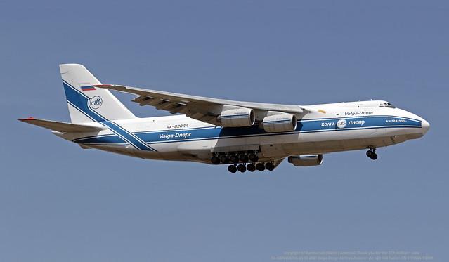 RA-82044 LMML 04-05-2021 Volga Dnepr Airlines Antonov An-124-100 Ruslan CN 9773054155109