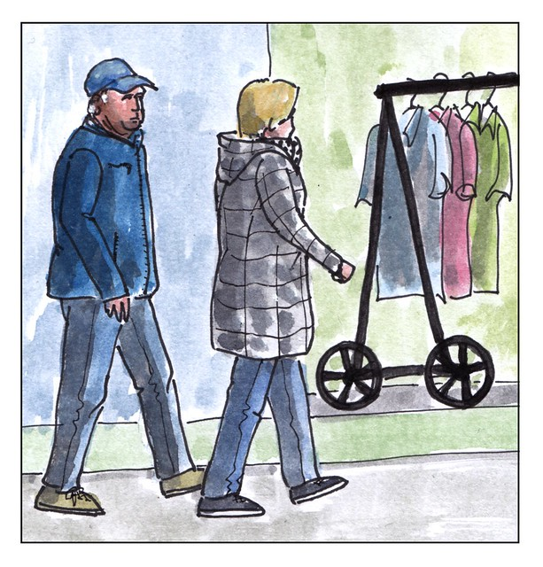 Weer winkelen / shopping again