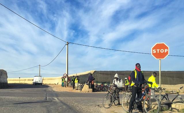 Esperando al patrón. El Ejido, Almería