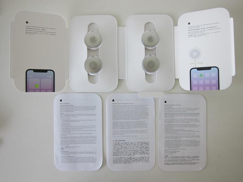 Apple AirTag - Box Contents