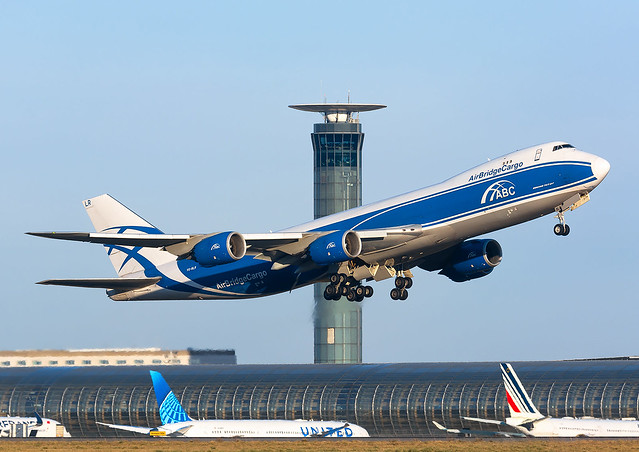 Boeing 747-8 Air Bridge Cargo VQ-BLF