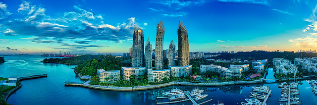 panorama of Reflections @ Keppel Bay