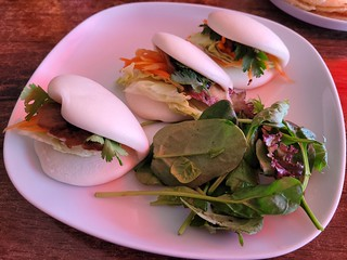 Hoisin Duck Bao at U-Tong Thai
