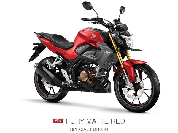Honda CB150R Fury Matte Red