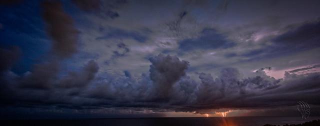 Evening Storm Offshore (2), Port Macquarie, Mid-North Coast, NSW