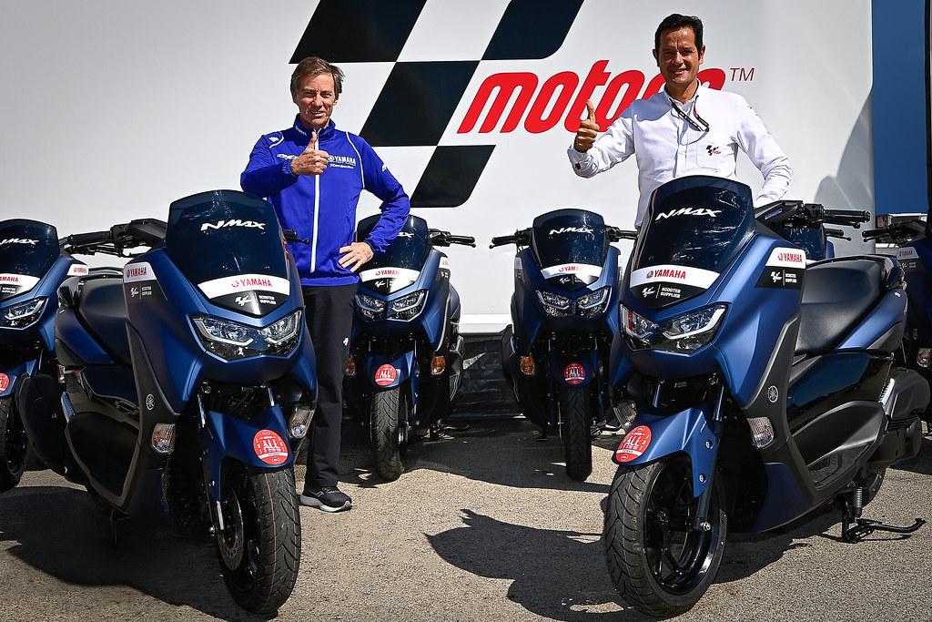 Yamaha NMax MotoGP Partner