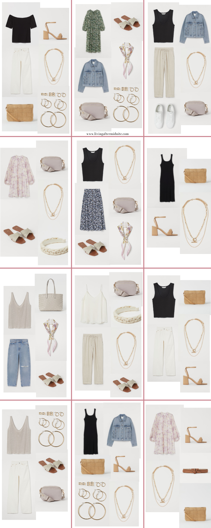 Affordable H&M Spring Capsule Wardrobe | 27 Pieces, 60+ Outfits | How to Build a Capsule Wardrobe | H&M Spring Clothes | Outfit Inspiration | Spring Fashion | 60 Warm Weather Outfit Ideas | Spring Vacation Packing Guide | Spring Outfits 2021 | Summer Outfit Ideas