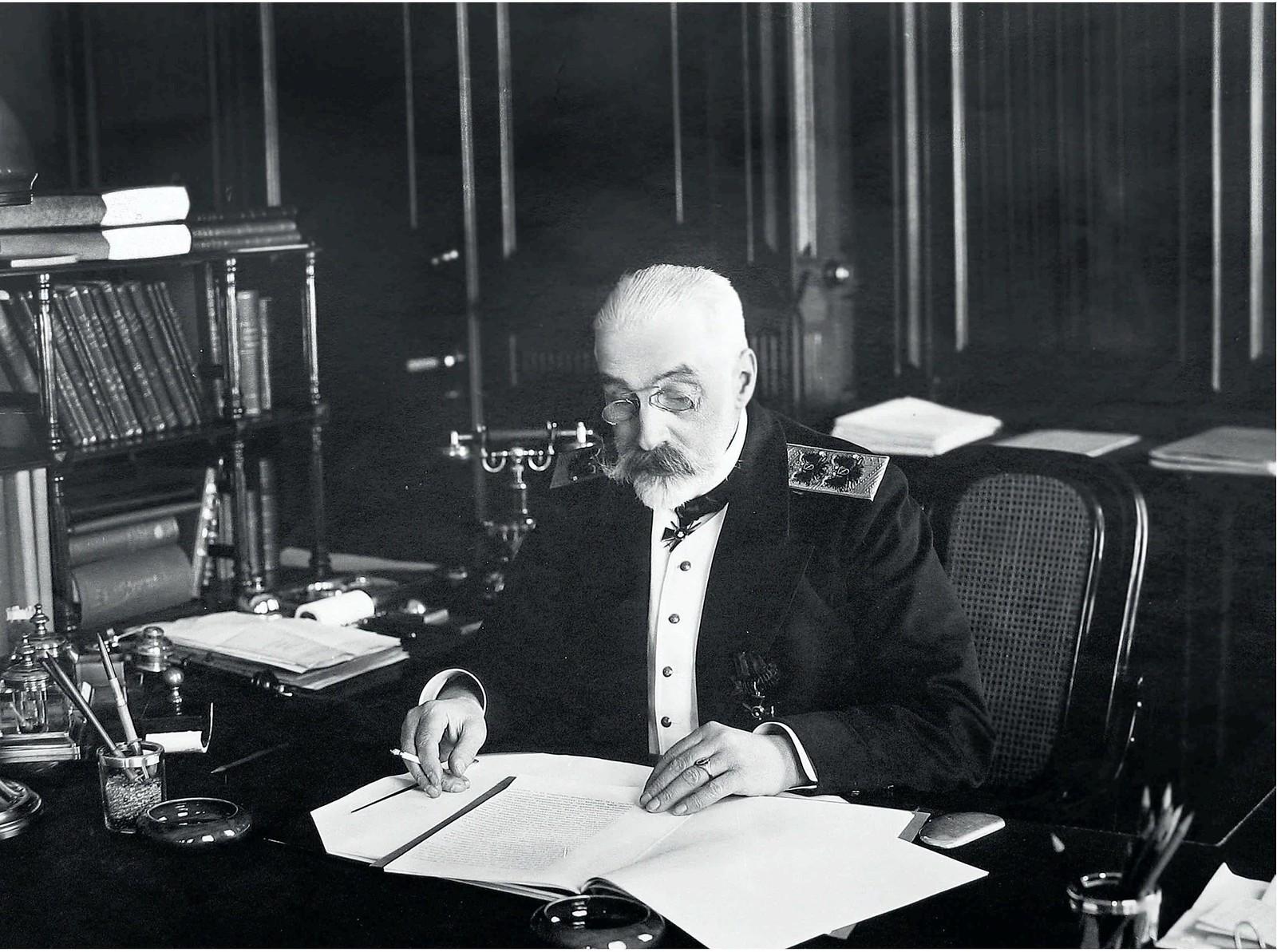 1914. Иван Константинович Григорович, последний морской министр Российской империи