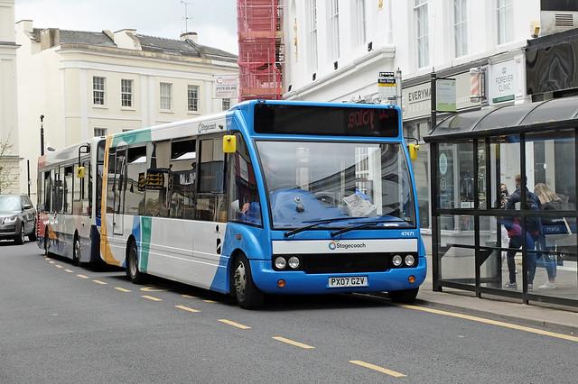 Stagecoach PX07 GZV, Cheltenham