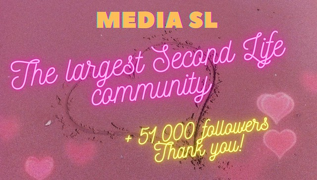 ⭐️ Media-sl The largest Second Life community ⭐️