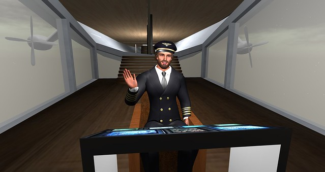 Cranston Travels The Grid: Entry #12: Limoncello Airship Gallery Annexe