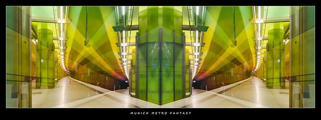 MUNICH METRO STATION FANTASY CANDIDPLATZ