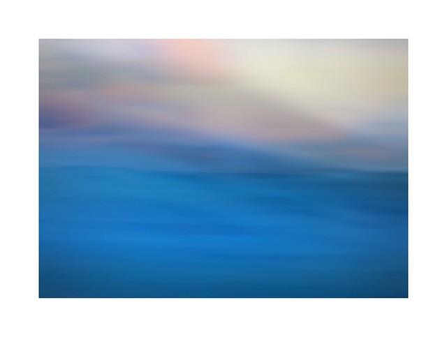Quand le ciel rejoint la mer