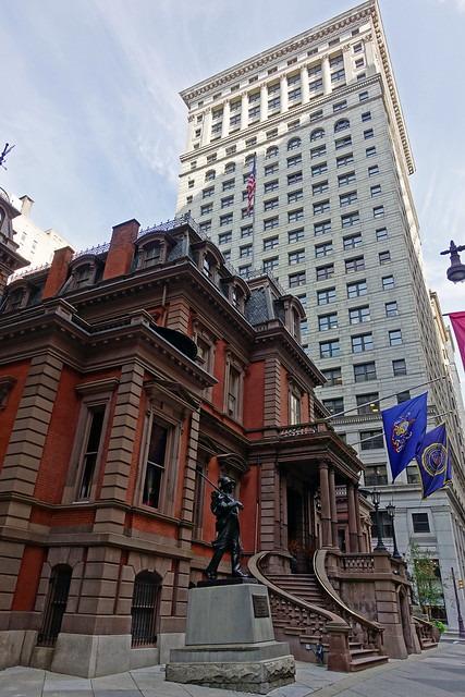 The Union League of Philadelphia NHP & Land Title Building NHP in the Center City West of Philadelphia, PA