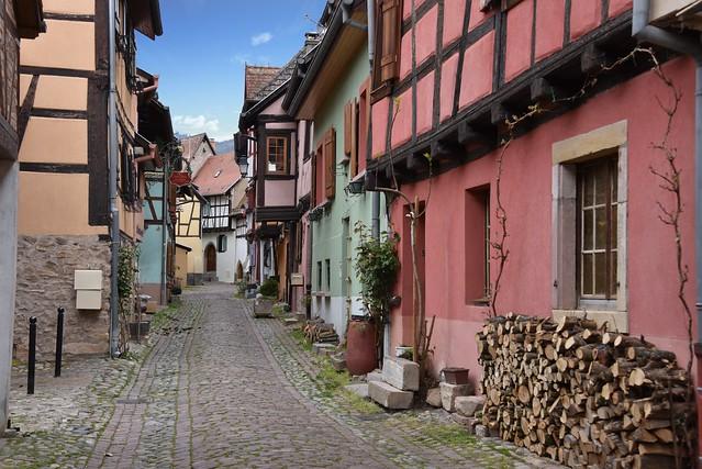 Rempart nord - Eguisheim (Haut-Rhin, F)