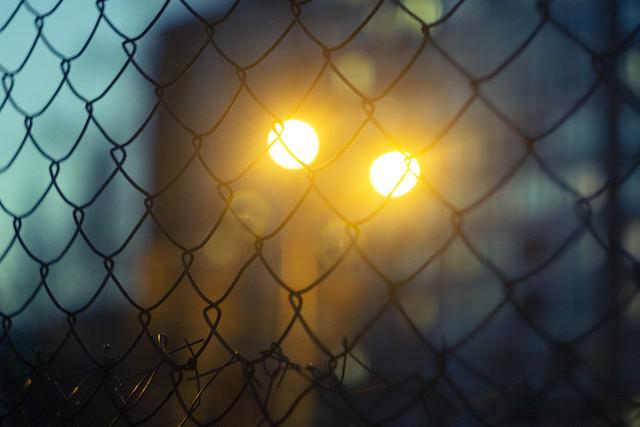 Behind bars (Manual shot)