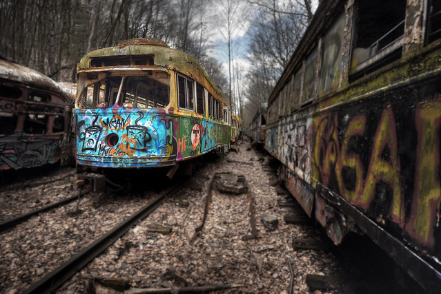 Trolley Graveyard 4