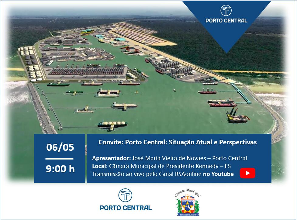 Porto central Situação atual e perspectivas