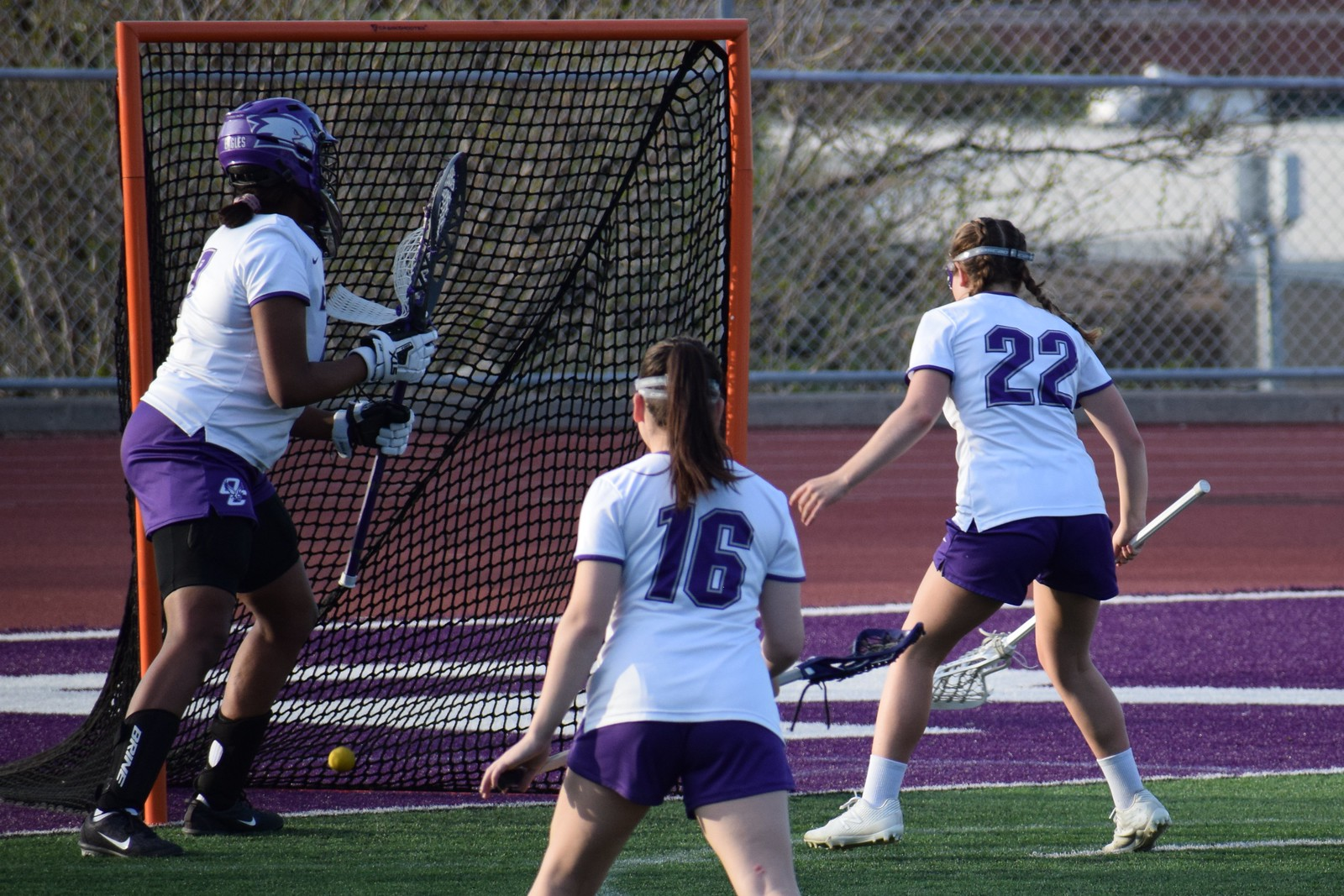 Varsity Game 4 - Lady Knights at Central: Second Half (04/26/21)