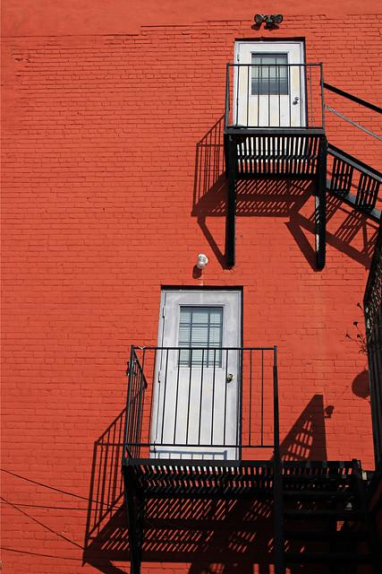 Upstairs and Downstairs- Garage Series