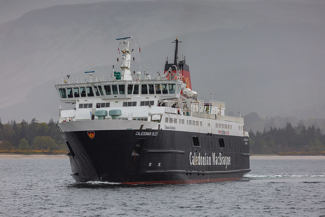 MV Caledonian Isles, Brodick