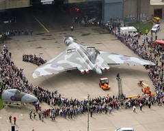 Roll Out Day - XH558 Outside for first time August 2006