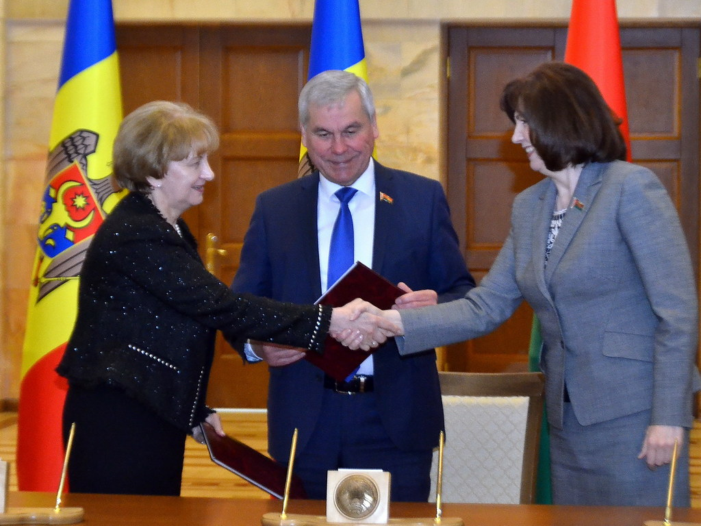 05-07.05.2021 Vizita oficială a Președintelui Parlamentului Zinaida Greceanîi în Republica Belarus