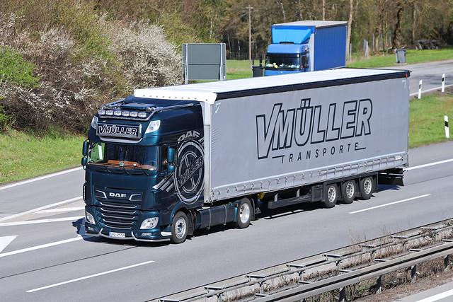 DAF XF 116  Valeri Müller