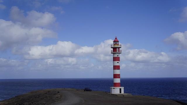 Faro / lighthouse / Leuchtturm. Sardina del Norte, Gran Canaria.