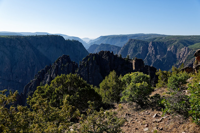 Sunrise, a View and Set of Eyes Required! (Black Canyon of the Gunnison National Park)