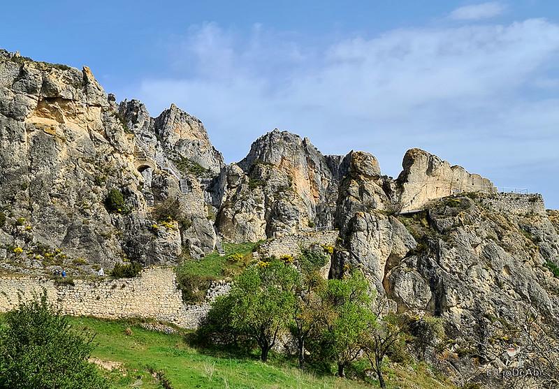 Ruinas del Castillo de Santa Marta en Pancorbo