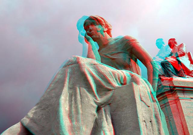 Monument REDE J.H. van 't Hoff  Rotterdam 's-Gravendijkwal 3D