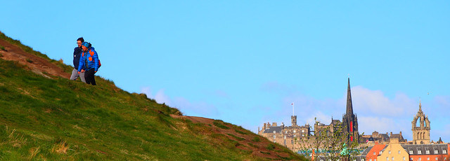 View from Holyrood Park