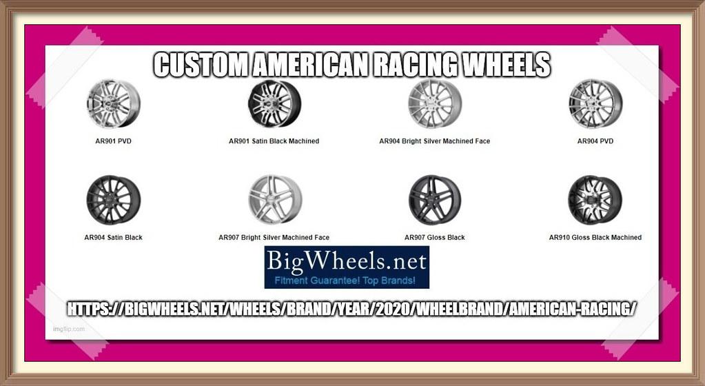 Custom American Racing Wheels