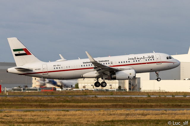 A320 ACJ United Arab Emirates Sharjah Ruler // A6-SHJ