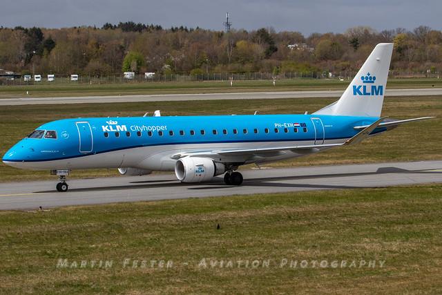 PH-EXH // KLM Cityhopper // Embraer  ERJ-175STD